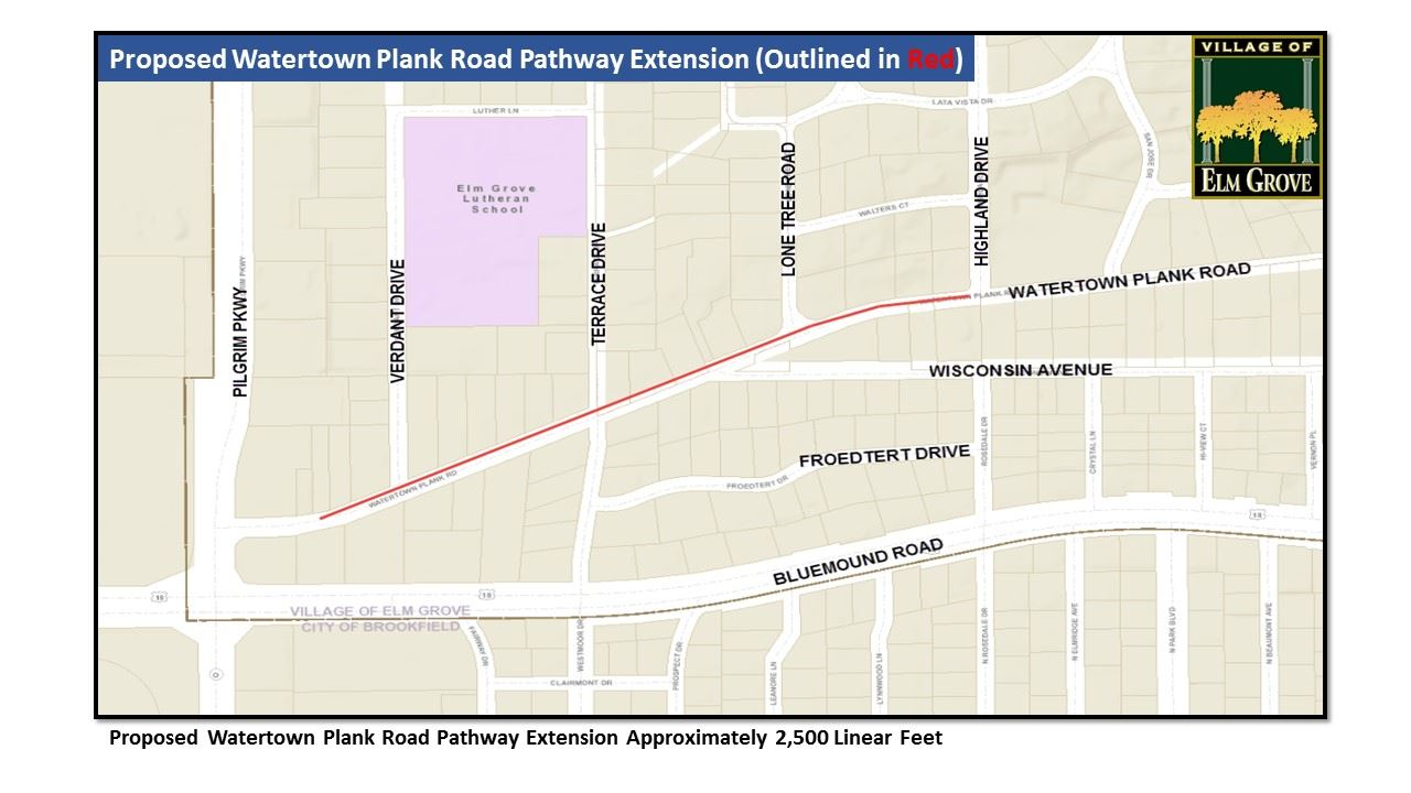 Watertown Plank Road Potential Pathway Extension