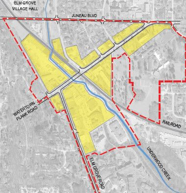 Downtown Master Plan map