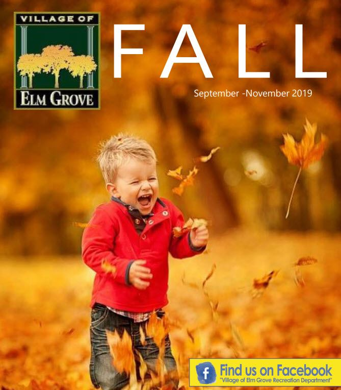 2019 Fall Rec Guide Cover
